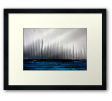 Late Afternoon on the Lake Framed Print