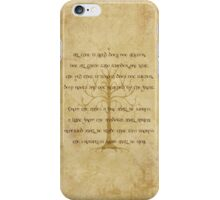 Not All Those Who Wander Are Lost - Riddle of Strider iPhone Case/Skin
