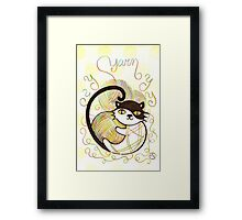 Playful Kitty Framed Print