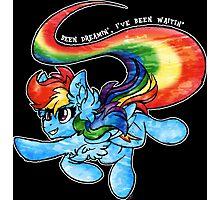 Rainbow Dash - Been Dreamin', I've Been Waitin' Photographic Print