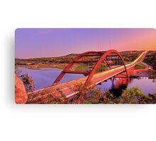 Austins 360 Bridge at Dusk Canvas Print