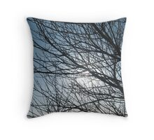 Spring Calm Throw Pillow