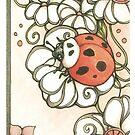 Nouveau Ladybug by Kiri Moth