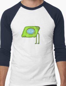 Funny Alien Monster Character Men's Baseball ¾ T-Shirt