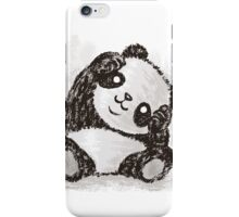 Cute Panda iPhone Case/Skin