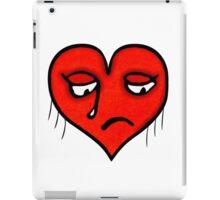 Sad Heart Drawing iPad Case/Skin