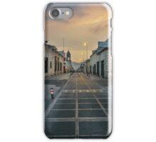Deserted Street in Arequipa Peru iPhone Case/Skin