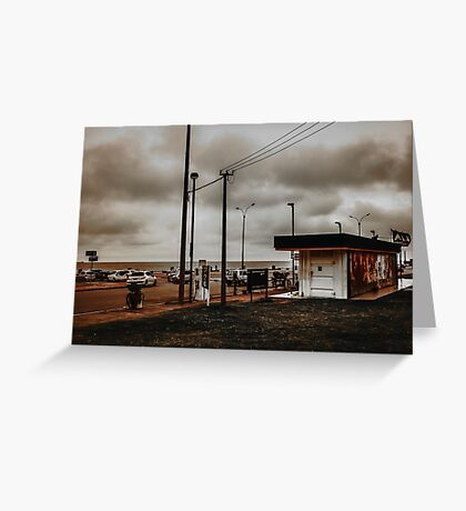 Montevideo South Coast View Greeting Card