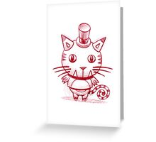 KitTeeKat Greeting Card