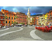 Lerici - Main Square Photographic Print