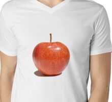 Apple Mens V-Neck T-Shirt