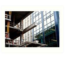 Construction Prongs Art Print