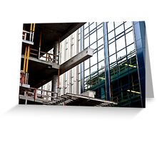 Construction Prongs Greeting Card