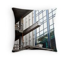 Construction Prongs Throw Pillow