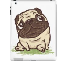 Pug that relaxes iPad Case/Skin