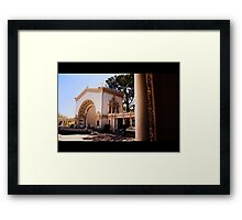 Life Is A Stage Framed Print