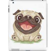 Happy Pug iPad Case/Skin