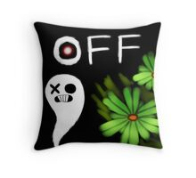 Mortis Ghost OFF Throw Pillow