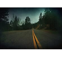 Middle of the Road Photographic Print