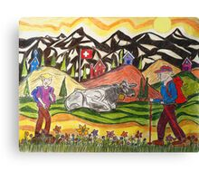 A Summers Trail Canvas Print