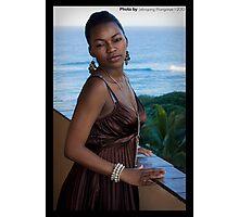 Mrs Manganye Photographic Print