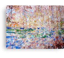 Abstractions--Tlacotalpan, Veracruz Canvas Print
