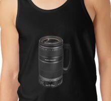 ❁◕‿◕❁  TELESCOPIC LENSE COFFEE CUP TEE SHIRT  ❁◕‿◕❁    ✾◕‿◕✾ Tank Top