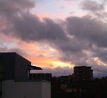 Sunset in Dublin by mayahanley