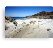 Beach at Arisaig. Canvas Print