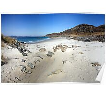 Beach at Arisaig. Poster