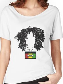 Bob and Cassette Weave Women's Relaxed Fit T-Shirt