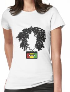 Bob and Cassette Weave Womens Fitted T-Shirt