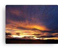 Tasmanian Sunset Canvas Print