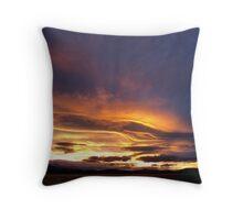 Tasmanian Sunset Throw Pillow