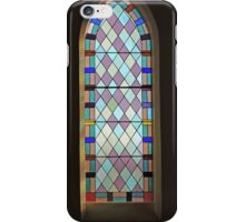 Glass Window in Beaconsfield Uniting iPhone Case/Skin