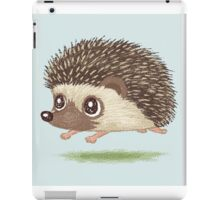 Hedgehog running iPad Case/Skin