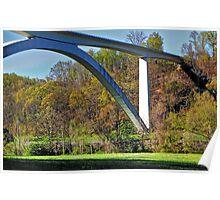 Bridge at Natchez Trace 2 Poster