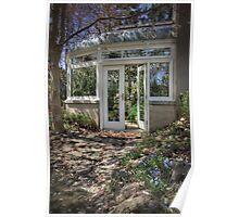 Blossom Garden Poster