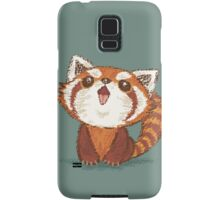 Red panda happy Samsung Galaxy Case/Skin