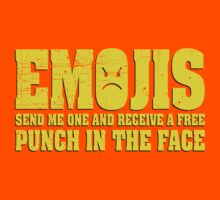 Anti Emojis - Free punch in the face by squidgun