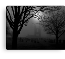 St Andrews graveyard Canvas Print