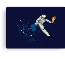 Wild Ride in Space Canvas Print