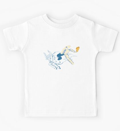 Wild Ride in Space Kids Tee