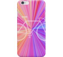 Bike Pink Gradient iPhone Case/Skin