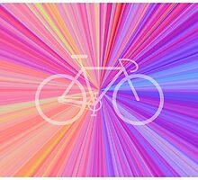 Bike Pink Gradient by mattclark