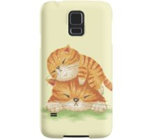 Family of tabby Samsung Galaxy Case/Skin