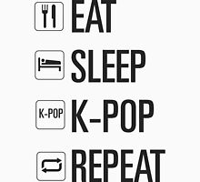 EAT SLEEP KPOP REPEAT  Unisex T-Shirt
