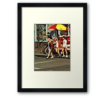 Texas Crossing Framed Print