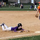 Chad Buckland (EHS) sliding into 3rd base 4-14-10 by Gregg Tulowitzky