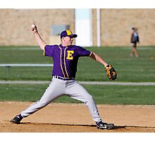 Matt Armour (EHS) pitching vs Fallston Photographic Print